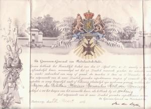 lombokonderscheiding 1896